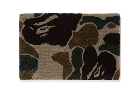 bathing ape rug a bathing ape bape gallery kyoto exclusive camo rug hypebeast