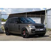Gallery Matte Grey Range Rover On Forgiato Wheels