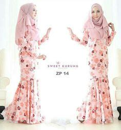 Set Rina Glw Setelan Kebaya Muslim Set Baju Batik Wanita baju kurung moden oleh vercato mengetengahkan rekaan