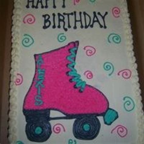 pattern roller for cakes 17 best images about roller skate cake on pinterest