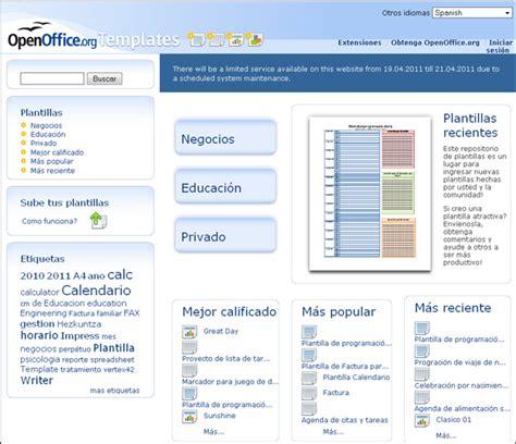 openoffice org templates instalar nuevas plantillas dise 241 o de presentaciones en
