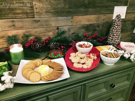 holiday appetizer buffet for easy entertaining nap time