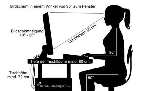 sitzposition schreibtisch ergonomie am arbeitsplatz pr 228 vention berufsunf 228 higkeit