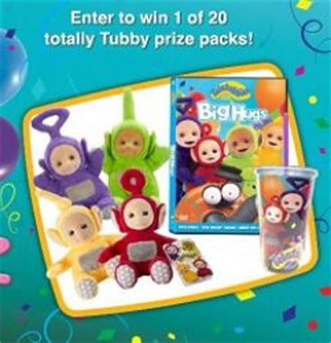 Sweepstakes Bug - teletubbies bug hugs sweepstakes