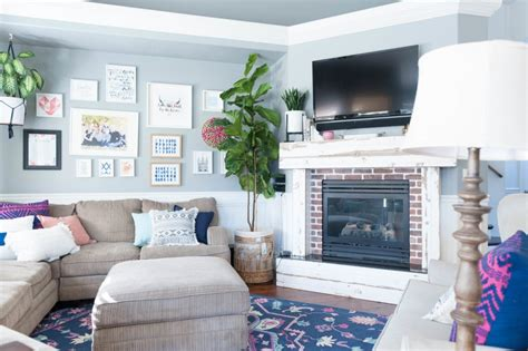 gray and navy living room ideas living room update color switch for less than 600