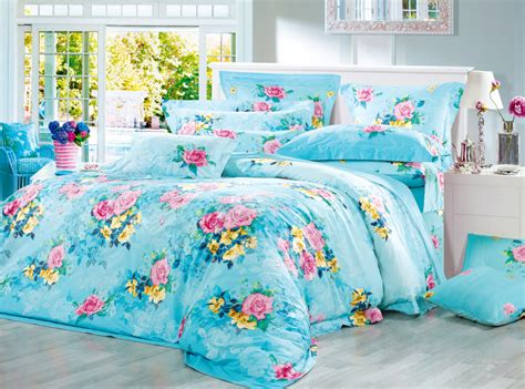 do you like the bright flower luxury bedding sets