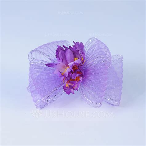 Handmade Artificial Flowers - handmade artificial silk net yarn flowers feathers
