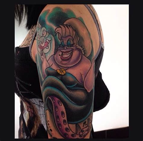 ursula tattoo pin by eric blevens on tattoos