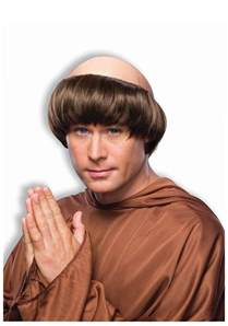 Monk With A Brown Monk Wig