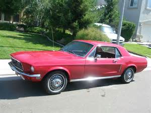 Upholstery San Jose 1968 Ford Mustang Coupe