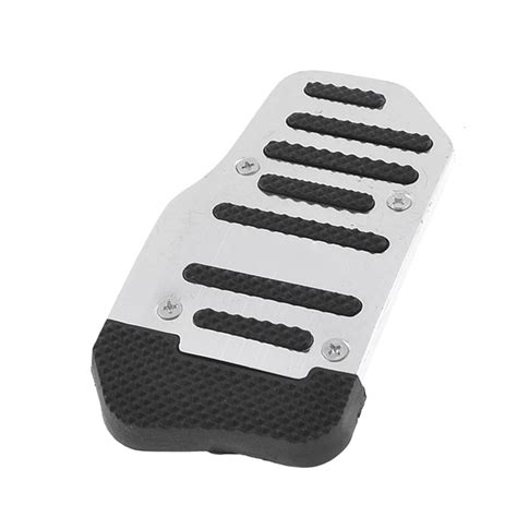 Pedal Gas Isoka Tranformer Silver car automatic gas brake metal pedal covers silver tone black 2 pcs dt ebay