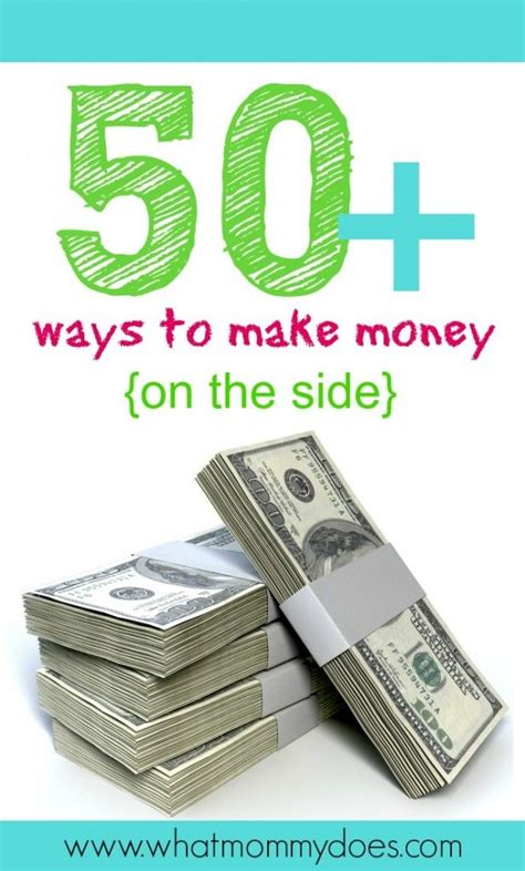 50 ideas to make money on the side money from