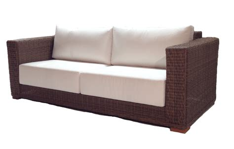 patio furniture sofa patio wicker sofa santa barbara