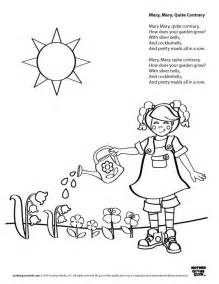 color rhymes 36 best nursery rhymes images on coloring