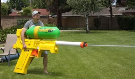 Water Gun Hello say hello to the world s largest soaker