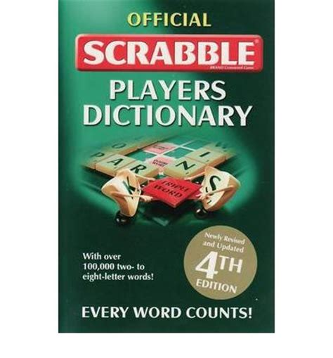 scrabble dictionary help official scrabble players dictionary 9781741846256