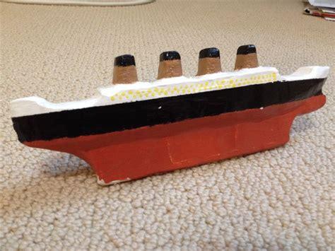 titanic toy boat uk 66 best titanic images on pinterest titanic cardboard