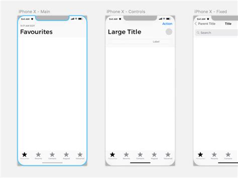 iphone  wireframe kit sketch freebie