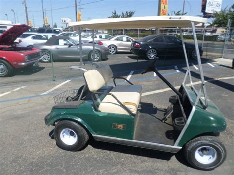 1998 club car golf cart car for sale 1998 club car golf cart 48 volt in lodi