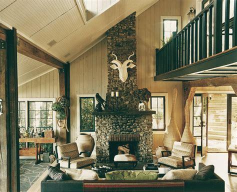 lake home interiors inside homes thom filicia s lake home homes