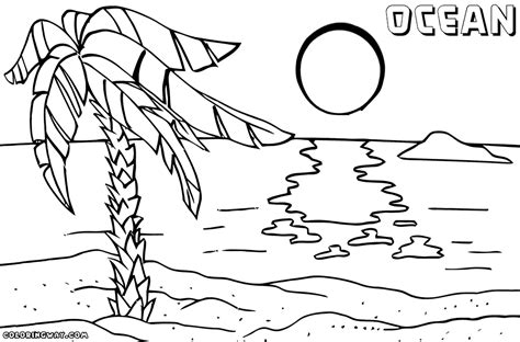 ocean coloring pages coloring pages to download and print