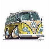 Dessin Anim&233 Bus Vw And On Pinterest