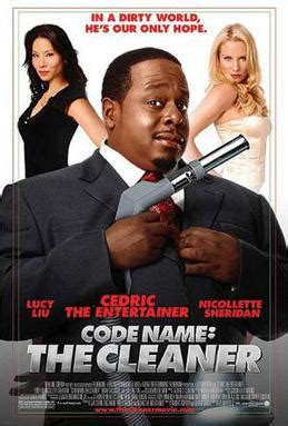 film comedy wikipedia code name the cleaner wikipedia