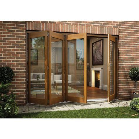 Jeld Wen Folding Patio Doors Cost Buy Jeld Wen Oak Veneer Folding Patio Door Set 2105 X 3005mm At Argos Co Uk Your Shop