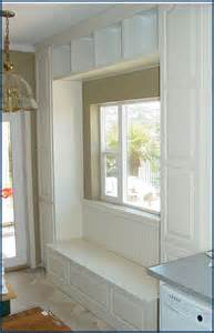 Window Seat With Cabinets by 100 Best Images About Ideas For Bedroom Closet On