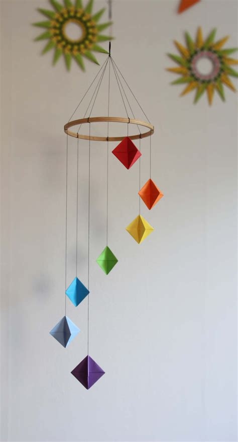 Origami Mobiles - image gallery origami mobile