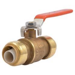 Shark Bathroom Decor Shop Sharkbite 3 4 In Dia Ball Valve Push Fitting At Lowes Com