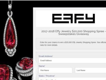 Contest Win 1000 Pink Mascara Shopping Spree by Jewelry Sweepstakes 2018 Win Free Jewelry Sweepstakes