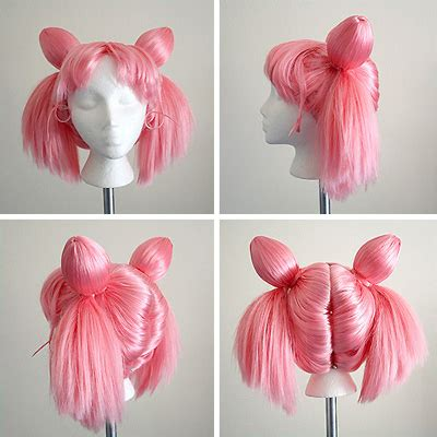 odango tutorial wig wig styling tutorial for chibi moon from the sailor moon