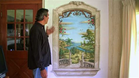 Mural Wall Painting Ideas trompe l oeil window mural youtube