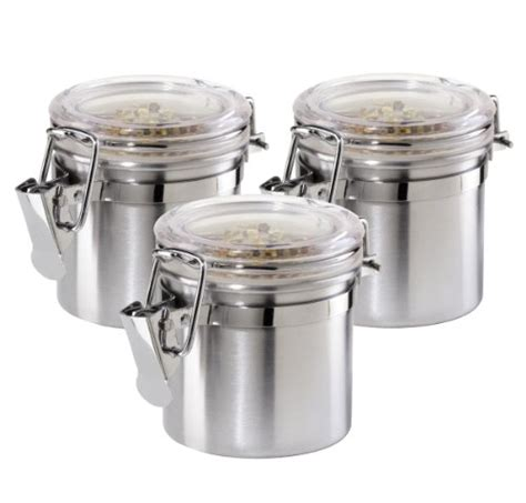 24 coolest stainless steel canisters 2018
