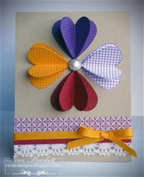 How To Make A Beautiful Handmade Folder - 3d hearts card ideas para decorar carpetas o folders