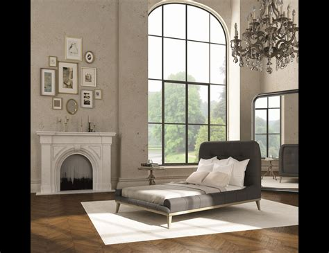 Past And Present Furniture by Nella Vetrina Past And Present Italian Luxury Modern Bed Brass