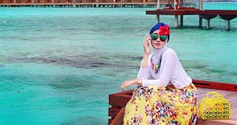 tutorial renang indonesia contoh model gaya hijab modern untuk renang
