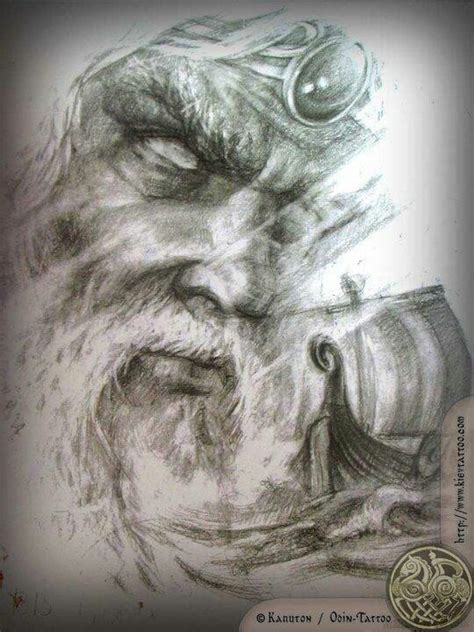 odin tattoo the divine pinterest raven ships and php