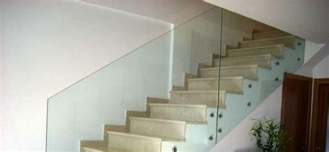 escaleras con barandilla de cristal barandillas de cristal templado