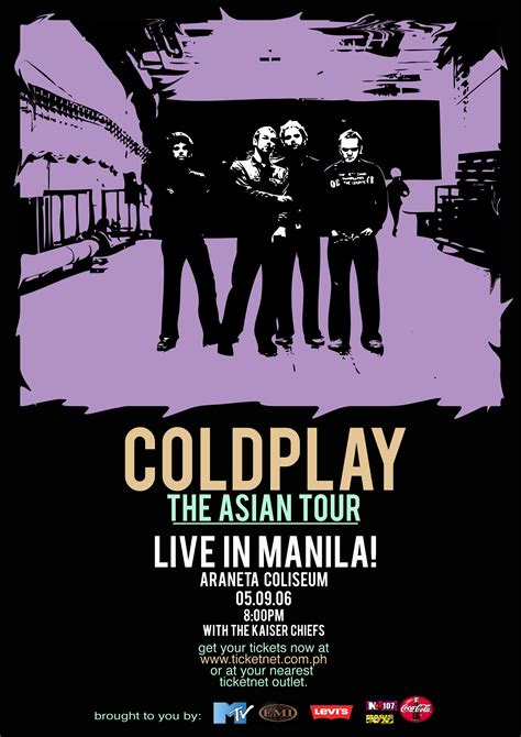 Poster Coldplay coldplay poster by kamuna on deviantart