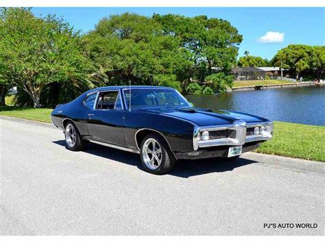 1968 Pontiac Tempest by 1968 Pontiac Tempest For Sale Classiccars Cc 818589