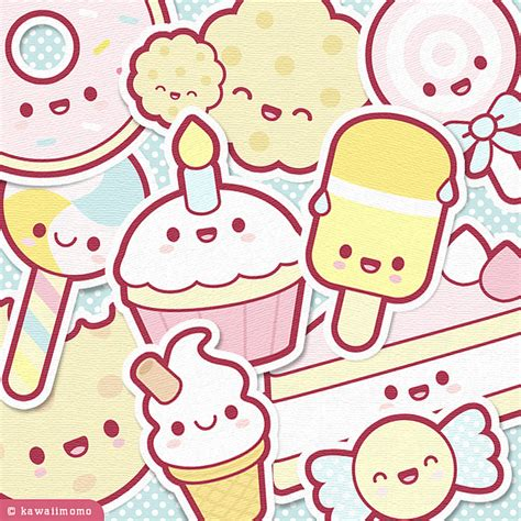 imagenes kawaii collage cute sweets collage a super cute collage sheet featuring