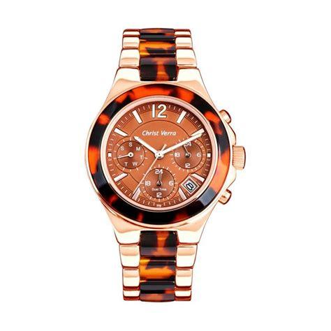 Verra 71081l 15 Rg Rosegold jual verra cv 2077l 15 brn rg analog jam tangan