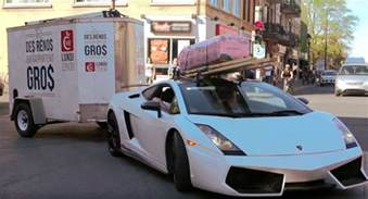 Can You Use Car Tires For A Trailer Who Said You Can T Use A Lamborghini Gallardo To Tow A