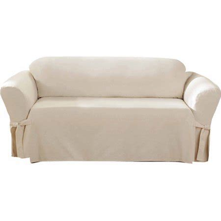 Cotton Sofa Slipcover by Sure Fit Cotton Duck Sofa Slipcover
