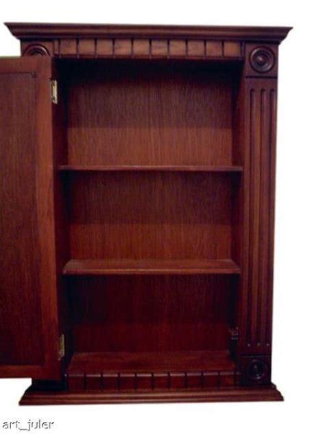 SCR Espresso Medicine Cabinet