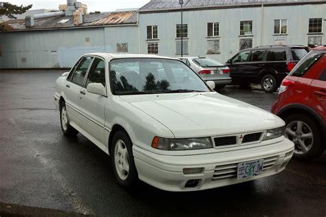 mitsubishi galant 1991 old parked cars 1992 mitsubishi galant vr 4