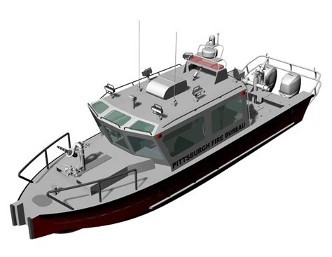 lake assault boats lake assault boats building new fireboat for pittsburgh