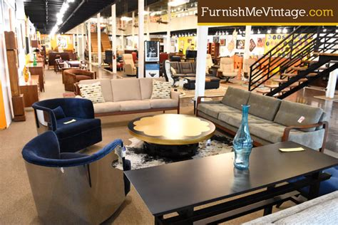 mid century modern furniture florida showroom photos